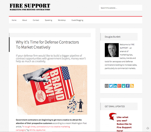 Defense Contractor Website Design: Why Fire And Forget Is Best